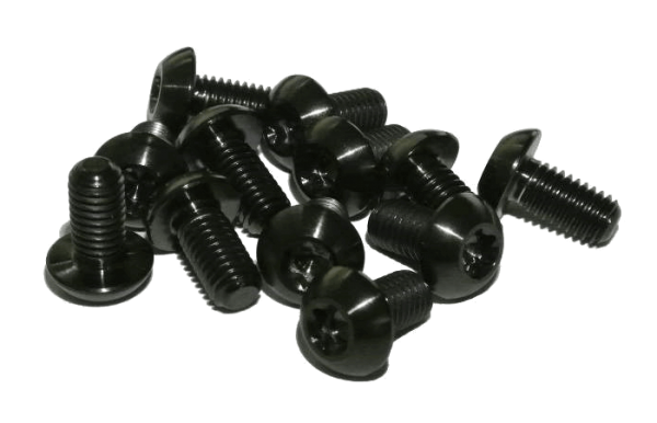 Titan Grade 5 Screw Set M5x10-T25 for MTB Brake Discs