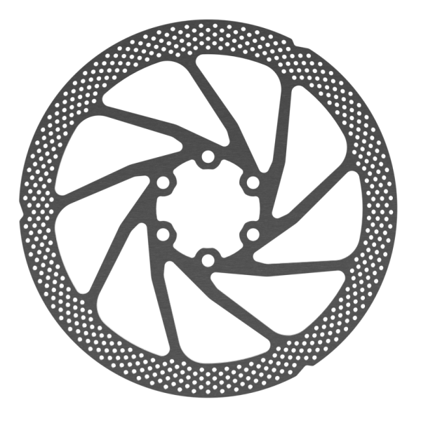Disc Rotor in Punch Design, 6-Hole, Shimano compatibel