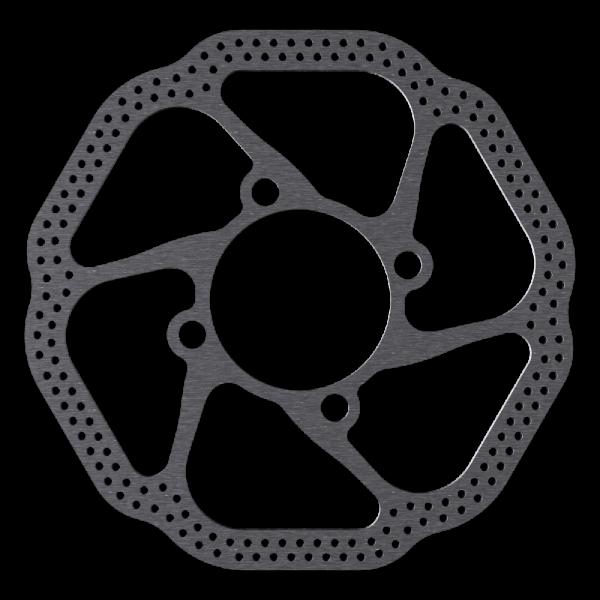 Bremsscheiben für Rohloff im EV1 Design (Design von Evan Vosberg)