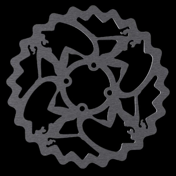 Bremsscheiben für Coda Naben im Pin-Up Design, 4-Loch