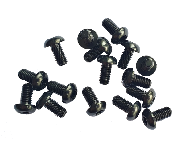 Titan Grade 5 Schrauben-Set M5x10-T25 für MTB Bremsscheiben