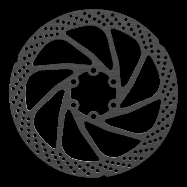 160mm Bremsscheibe im XT Design, 6-Loch, Shimano kompatibel, verschiedene Reibringbreiten lieferbar