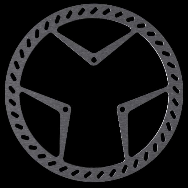 Bremsscheibe für AMP und RockShox, 3-Loch
