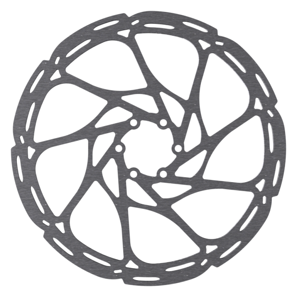 Disc Rotor in Spider Design, 6-Bolt, Avid and SRAM compatible
