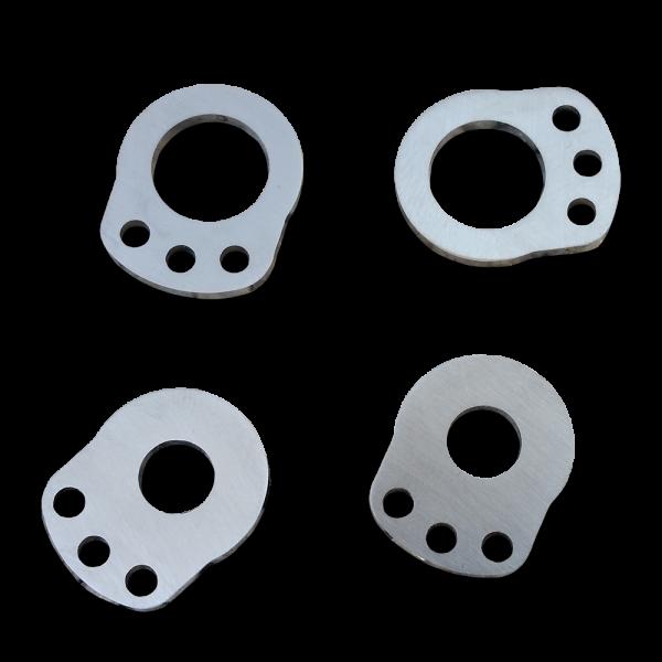 3-Hole Plates for the brake return spring on V-Brakes