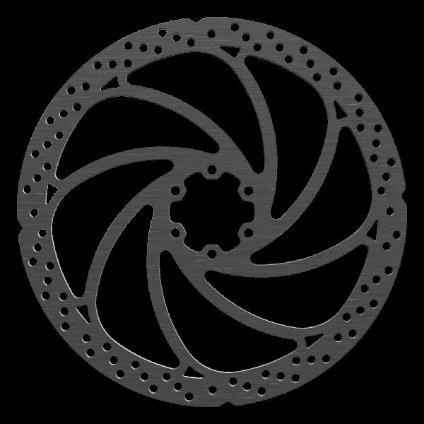 Ø203mm Brake Disc, Wave Design, 6-hole, Magura compatible