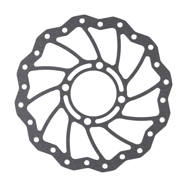 Disc Rotor in Wave Design for Rohloff Hubs, 4-Hole