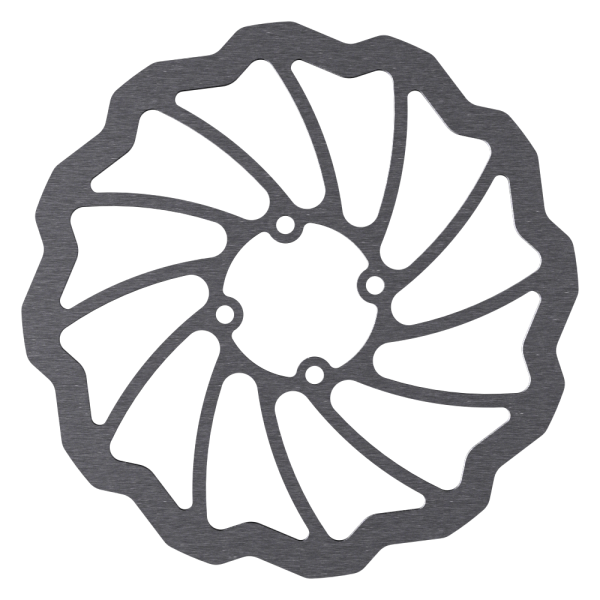 Disc Rotor in Wave Design for Coda Hubs, 4-Hole, Magura compatible