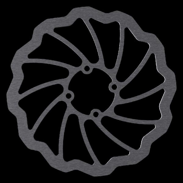 Bremsscheibe für 4-Loch Coda, Wave Design, Magura Marta SL kompatibel