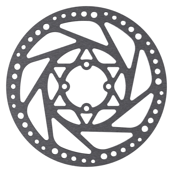 Disc Rotor in Uni Design for Coda Hubs, 4-Hole, Cannondale compatible