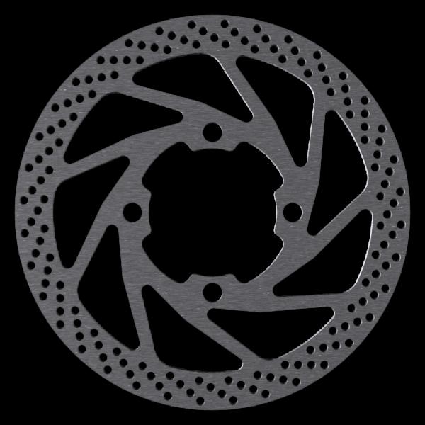 160mm und 180mm Bremsscheibe für Rohloff Speedhub, Magura und Shimano kompatibel