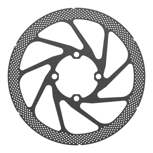 Disc Rotor in Punch Design, 4-Hole for Rohloff, Shimano compatibel