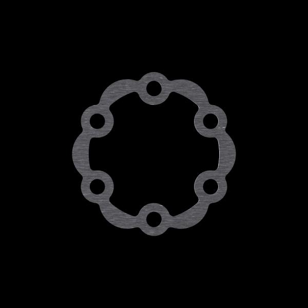 6-Loch Disc Shims / Spacer für Bremsscheiben, verschiedene Stärken lieferbar