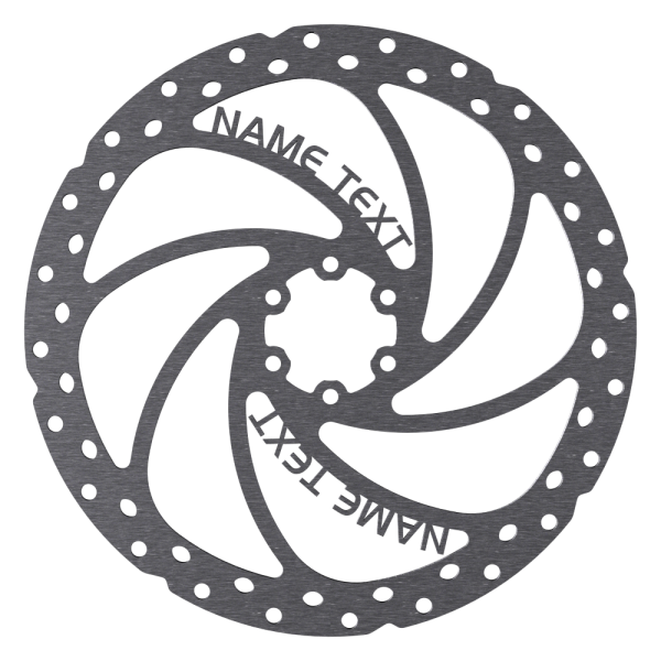 Individuelle Bremsscheibe, Design: BrakeSTUFF One, Größen: Ø160mm - Ø210mm