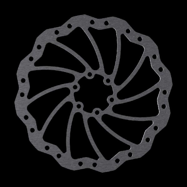 Bremsscheiben im Wave Design 6-Loch Magura Marta SL kompatibel
