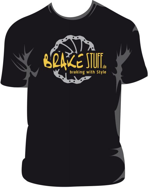 T-Shirt in the BrakeSTUFF look, a must have for every fan of us