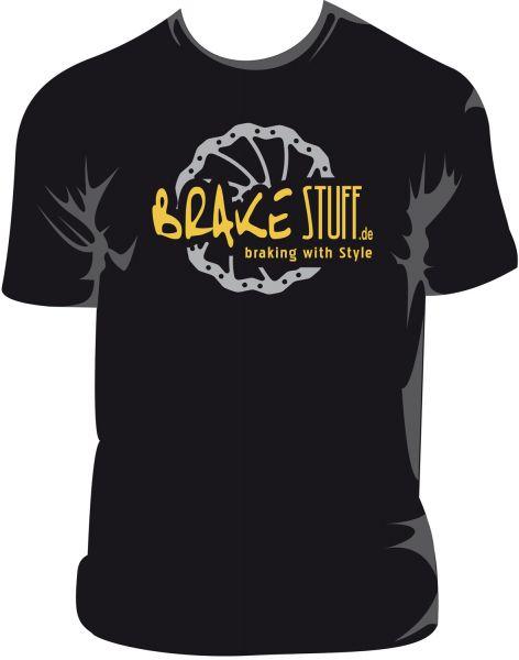 T-Shirt im BrakeSTUFF Look, ein Must Have für jeden Fan von uns
